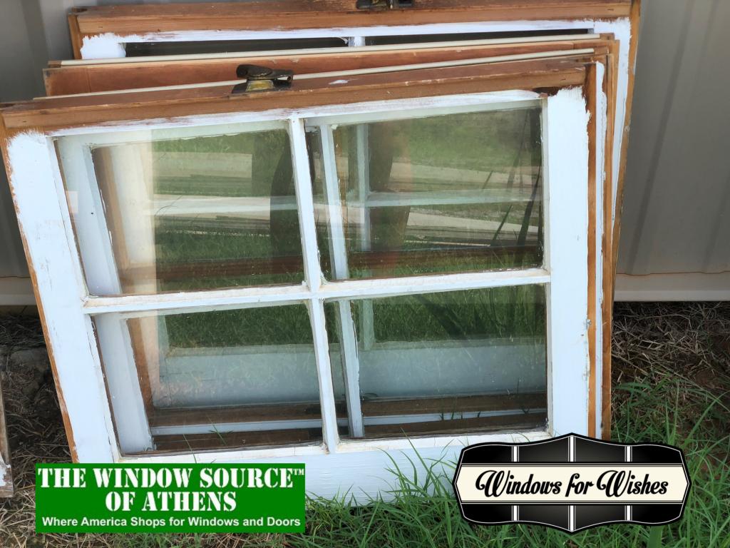 old window frames athens
